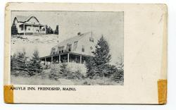 Argyle Inn, ca. 1910