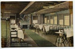 Argyle Hall dining room