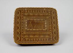 Handkerchief box, Passamaquoddy, ca. 1880