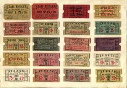 Criterion & Star Tickets, Bar Harbor, ca. 1935