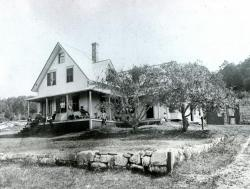 Harbor Cottage at Asticou Northeast Harbor Maine Circa 1880
