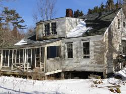 The Old House built by John Savage II circa 1820, torn down on February 22, 2013