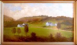 Painting of Asticou Circa 1860-1870