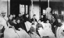 Augustus Chase Savage & Family, Northeast Harbor, ca. 1890
