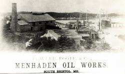 Fowler, Foote & Company pogy factory, South Bristol ca. 1870