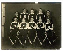 Gillman High School Boys Basketball Team ca early 1930's