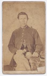 James Parker, Artificer, First Maine Heavy Artillery Regiment, ca. 1863