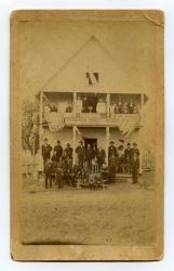GAR, Goodwin Post #32, Newport, ca. 1886