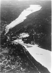 Telos Lake, Dam and Cut and Webster Lake