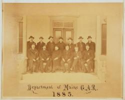 Department of Maine Grand Army of the Republic, Portland, 1885