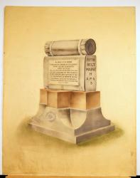 Alonzo Stinson monument, Portland, 1908