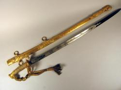 Commander James Alden sword, ca. 1864