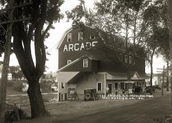The Arcade, East Machias, 1927