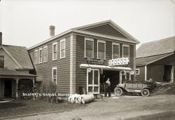 Danforth Garage, Danforth, ca. 1920
