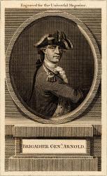 Brigadier General Benedict Arnold