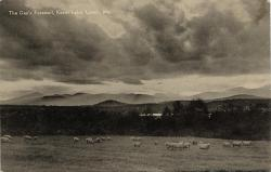 View of White Mountains from Lovell, ca. 1900