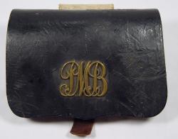 Civil War bullet case, ca. 1862
