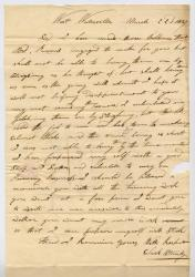 Letter from Clark Stanley to C.C. Woolcot about bobbins