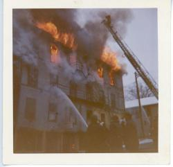 Gay Block Fire, Waldoboro, 1962