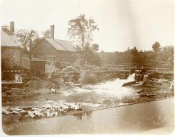 Gambo Dam, Oriental Powder Mills, Gorham and Windham, ca. 1900