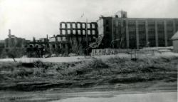 Ruins of Grafton Lumber Co., Biddeford, 1963