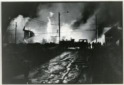 Burning of the Eagle's Aerie Fraternal Headquarters, Biddeford, 1977