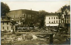 Aftermath of Harmon's Corner Fire, 1911