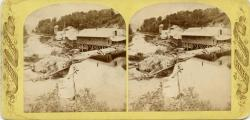 Morse's Mills on the Kenduskeag Stream at Bangor, ca. 1880