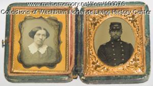 Freeland Holmes and Caroline Holmes, Foxcroft, ca. 1860