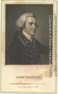 Portrait of John Hancock, 1765
