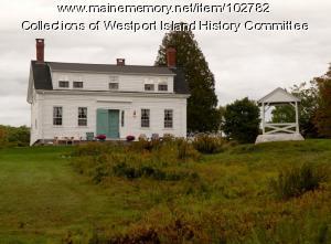 Cornelius Tarbox, Jr. House, Westport Island, ca. 1858