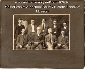 Doctors of the Houlton area, ca. 1903