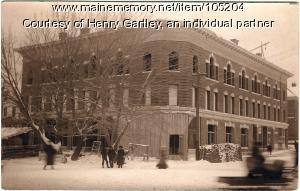 Walter P. Mansur Block, Houlton, ca. 1905