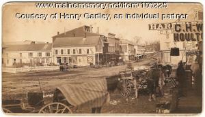 Town view, Houlton, ca. 1882