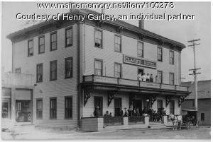 Clark's Hotel, Houlton, ca. 1907