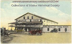 Island Ledge Casino, Wells Beach, ca. 1915