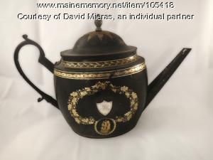 Brigadier General Jedediah Preble's teapot, York, ca. 1750