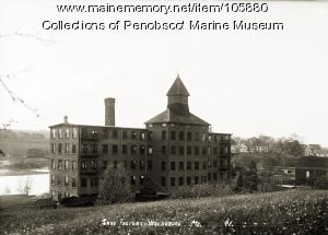 Shoe factory, Waldoboro, ca. 1910