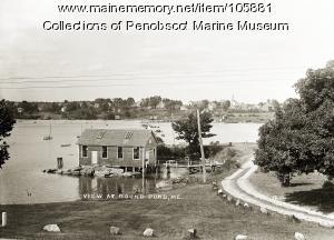 Breezy Point, Round Pond, ca. 1930