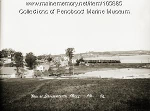 Damariscotta Mills, ca. 1925