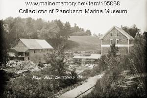 Fords Mill, Whitefield, 1915