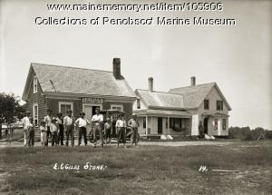 Edson Giles store, Boothbay, ca.1920