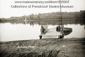 Dresden ferry  ca. 1915