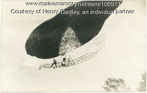 Airship disaster, Waterville, 1908