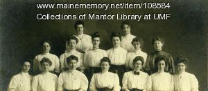 Farmington State Normal Students, 1908