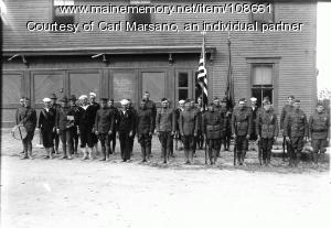 American Legion, Monson, 1922