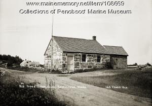 Old Stone schoolhouse, Georgetown, ca.1930