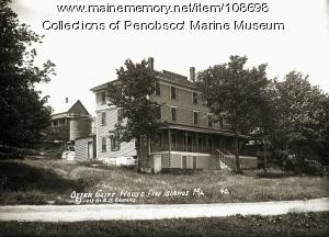 Otter Cliff House at Five Islands, Georgetown, 1913
