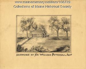 Pepperrell House, Kittery, circa 1774