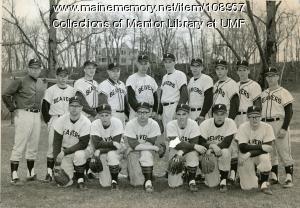 Farmington State Teachers College baseball team, 1965
